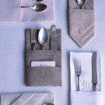 cutlery in a formal table setting