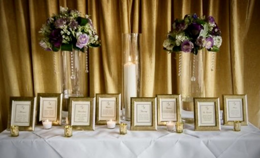 Seating plan, Hanbury Manor, framed seating plans, framed seating plan,