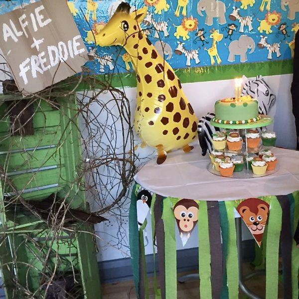 Twin boys Jungle Themed Birthday Party , birthday party, 2 year Childs old party, girls birthday parties, party planner Hertfordshire, party planner London, childrens party planning London,