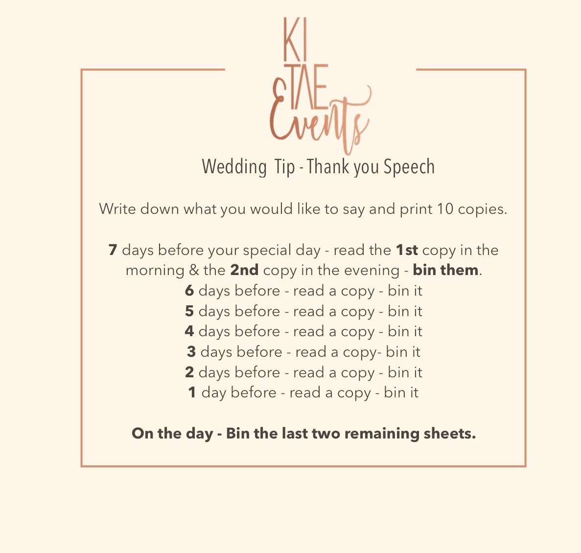 Thank you speech, nervous about wedding speech, wedding speech groom, wedding speech bride, wedding speech tips